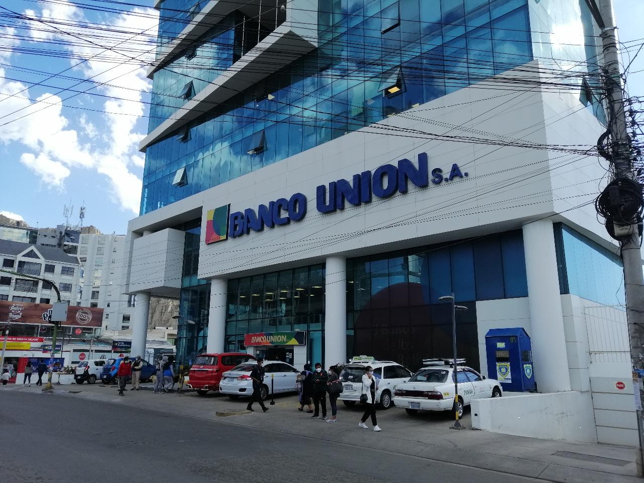 Oficinas centrales del Banco Unión